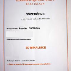 Kozmetika Angelika Bratislava  3d mihalnice