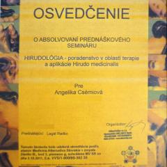 Kozmetika Angelika Bratislava hirudologia