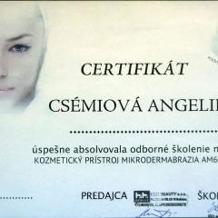 Kozmetika Angelika Bratislava mikrodermabrazia